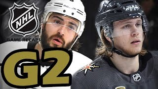 Los Angeles Kings vs Las Vegas Golden Knights. 2018 NHL Playoffs. Round 1. Game 2. 04.13.2018 (HD)
