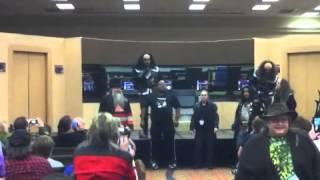 gowron martok sing klingon anthem at starbase indy 2012