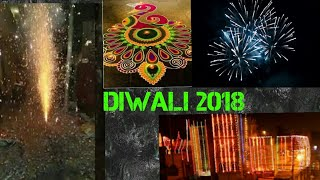 Diwali Celebrations 2018|Burning Crackers,Puja,Decorations|Diwali Vlog 2018