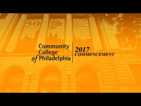 Community College of Philadelphia 2017 Commencement