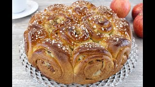 Пирог с яблоками 🔶 Сдобный яблочный пирог