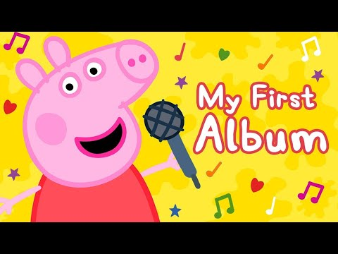 Peppa Pig Official Channel | Peppa Pig Songs | Bing Bong Zoo Song 🎵My First Album