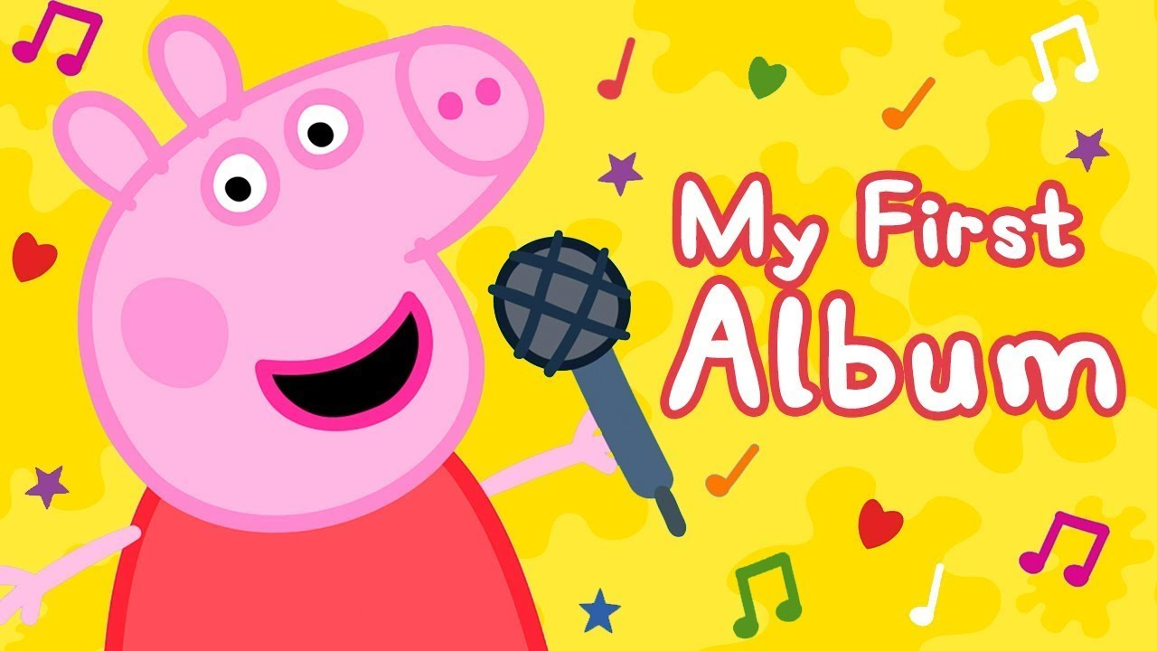 Peppa Pig Official Channel Peppa Pig Songs Bing Bong Zoo Song My First Album