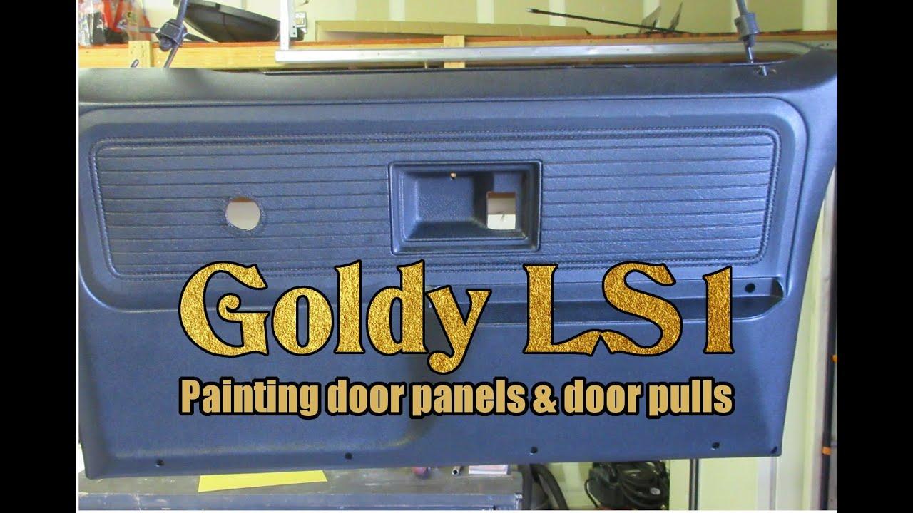 Chevy K20 Interior Door Panel Painting With Truck Bed