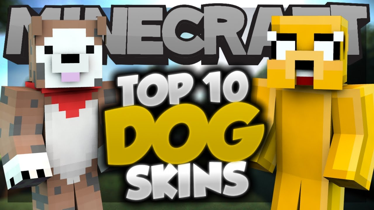 Top Minecraft DOG SKINS Best Minecraft Skins YouTube - Dog skins fur minecraft