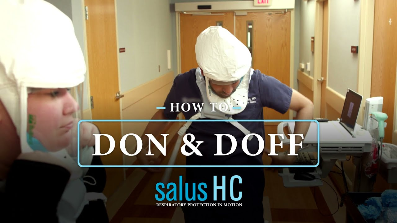 Download Bullard SALUS HC PAPR:  How to Don and Doff