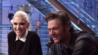 Gwen Stefani Adorably Teases Boyfriend Blake Shelton During 'Voice' Return: 'You Need a Lot of He…