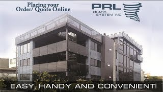 PRL's Quick & Easy Online Ordering & Quoting System is Back!