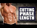 How Long To Cut Before Bulking? (Ideal Cutting Phase Length)