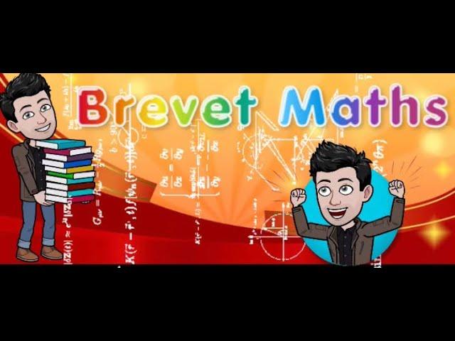 BREVET DE MATHS ET CALCUL LITTÉRAL - EXERCICES MATHS CORRIGÉS.