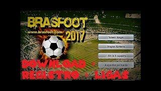 Brasfoot 2017 + Registro + Ligas (Link na Descrição) #Pedido