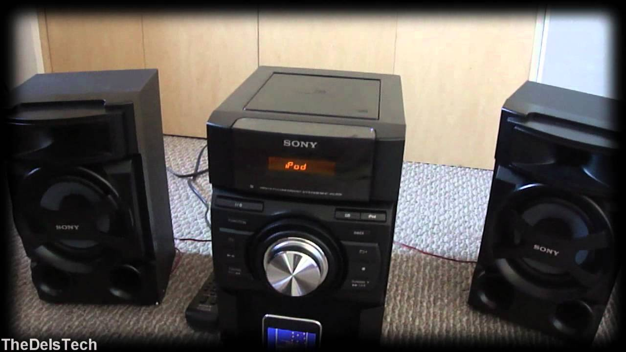 sony mhc ec69i review youtube. Black Bedroom Furniture Sets. Home Design Ideas