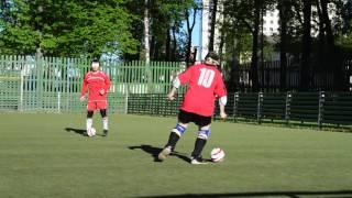 Тренировка слабовидящих по мини-футболу