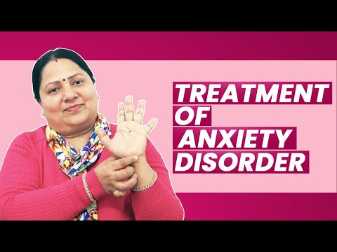 Treatment of Anxiety Disorder / Panic Attack / Social Phobia by Acupressure