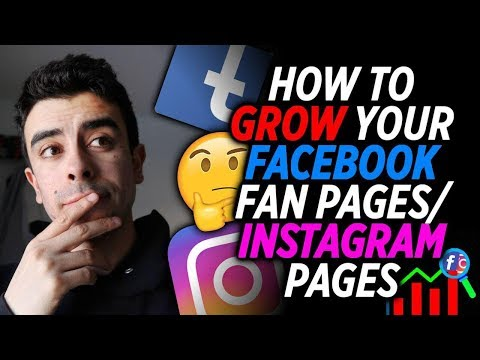 **IMPORTANT** FACEBOOK FAN PAGEs/INSTAGRAM BUSINESS PAGE FOR SHOPIFY DROPSHIPPING 2018 (PART 1)