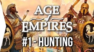 Age of Empires 1 ► #1 Egypt - Hunting [HD Gameplay] - Intro