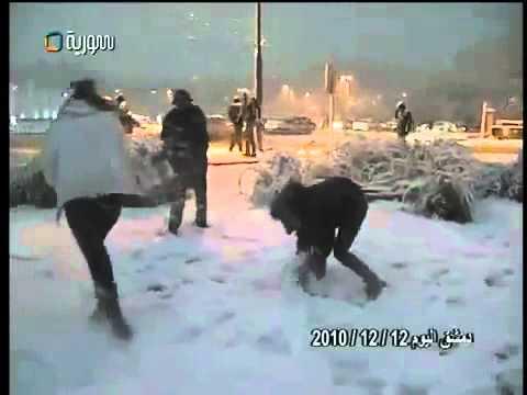 SNOW IN DAMASCUS