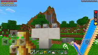 New Skeleton Mobs in Minecraft Pocket Edition (Robot Skeleton Addon)