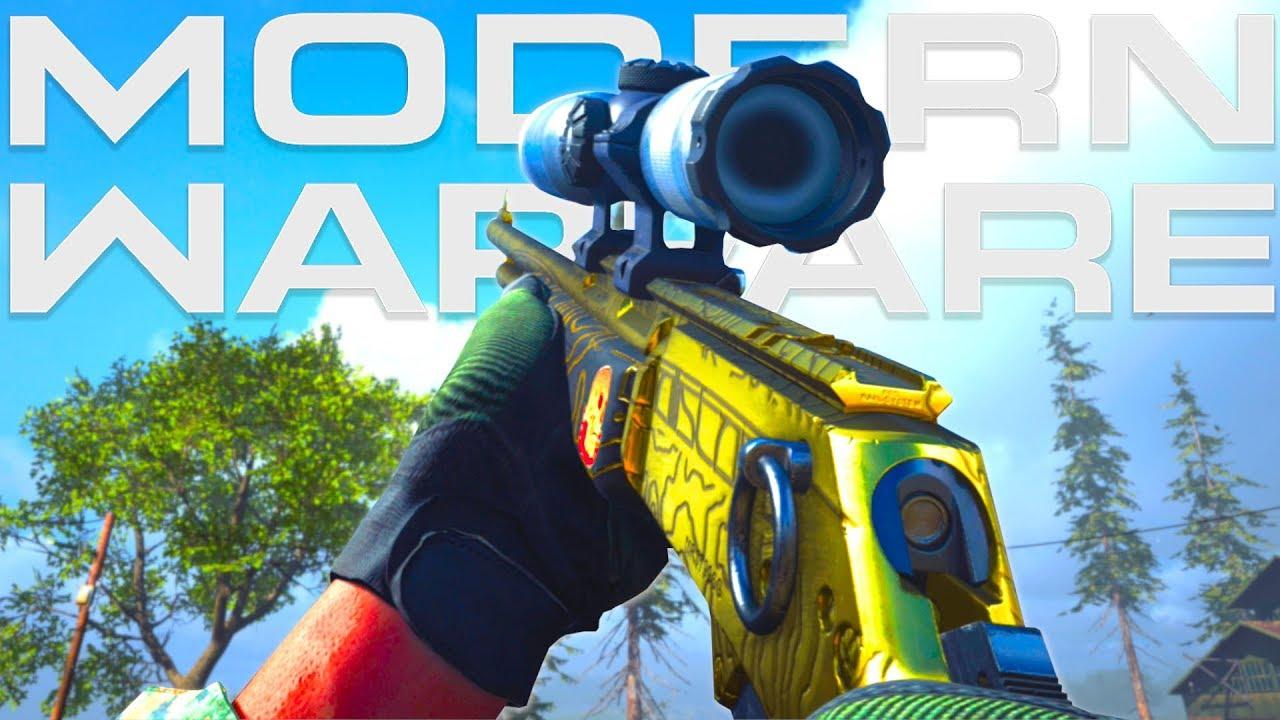 Carabine MK2 EN OR sur Call of Duty: MODERN WARFARE !