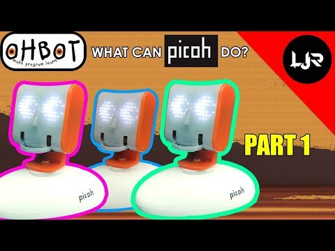 What Can Picoh Robot Do? (Part 1)
