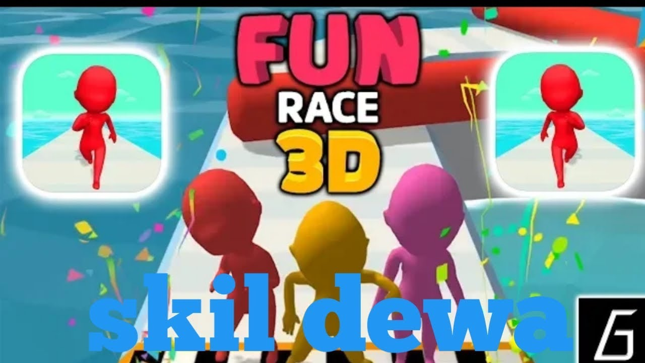 Fun race 3D terbaru 2020 paling seru | gameplay 🔴 - YouTube