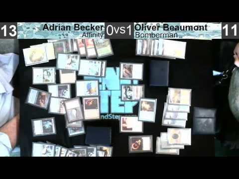 Scholar's Vintage 10-26-13: R1 -  Affinity VS Bomberman