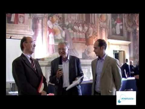NEWTUSCIA TV: CONVEGNO UCSI SUL PASSIONISTA VITERBESE DOMENICO DOMENICO BARBERI