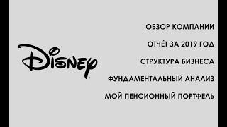 Disney - Обзор компании из моего портфеля. Индекс S&P500 - Видео от ФинИнди