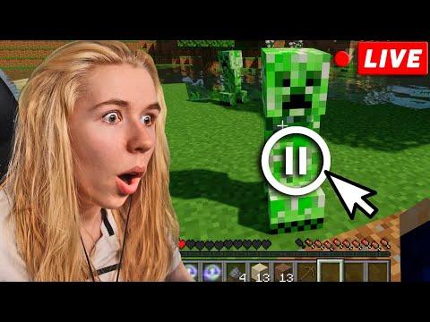 Minecraft, ABER wir können die ZEIT ANHALTEN!