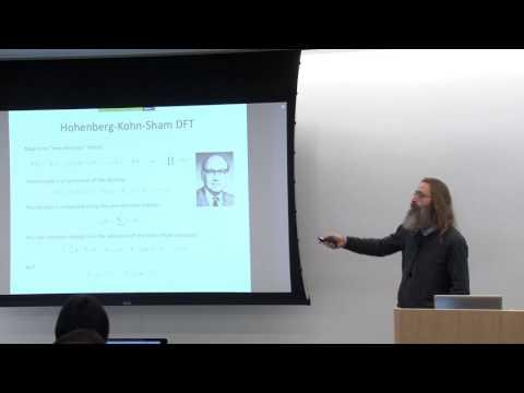 VASP Workshop at NERSC: Basics: DFT, plane waves, PAW method, electronic minimization, Part 1