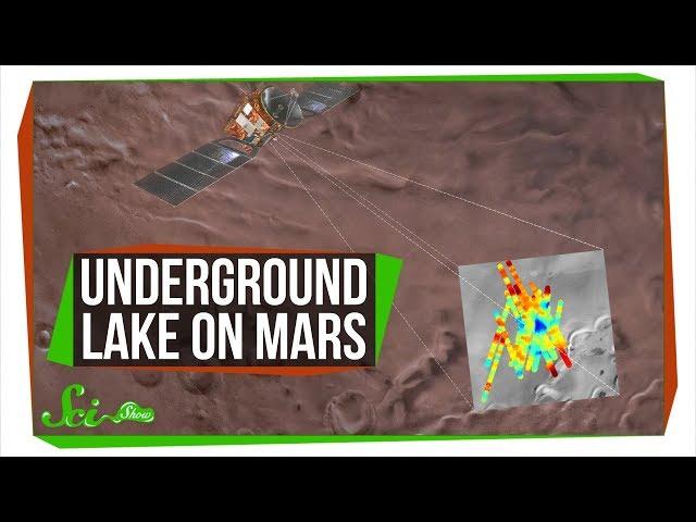 A Giant Underground Lake on Mars!   Breaking News