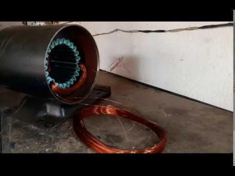 Enrolamento de um motor 10 cv 2 polos