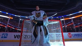 Marc-Andre Fleury honored in return to Pittsburgh
