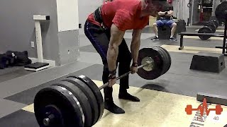 503 Pound Dead Lift Personal Best - 46 Years Old at 198 Pounds