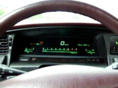 C4 Corvette For Sale >> Toyota Cressida 89 0-100 kmh - YouTube