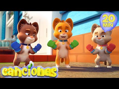 LooLoo – Tres Gatitos –  Las mejores canciones de baile para nios  | LooLoo – Cantece pentru copii in limba spaniola