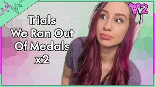 Trials We Ran out of Medals x2! - Destiny 2 Trials of the Nine Gameplay