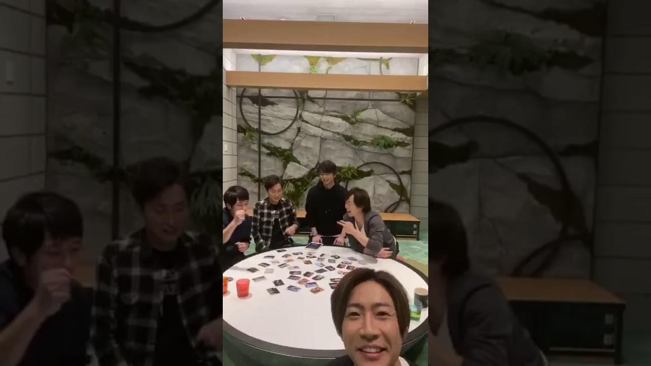 嵐 インスタ ライブ 見方