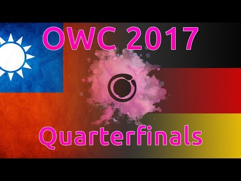 osu! World Cup 2017 | Quarterfinals | Germany vs Taiwan | with Twitch Chat