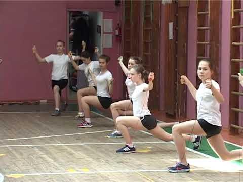 Видео урок в школе физкультуры