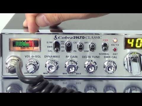 Cobra 29 LTD Classic CB Radio Product Review by CB World! - YouTube