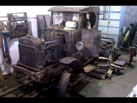 Mack Truck For Sale >> Chain Drive 1928 International Truck - YouTube