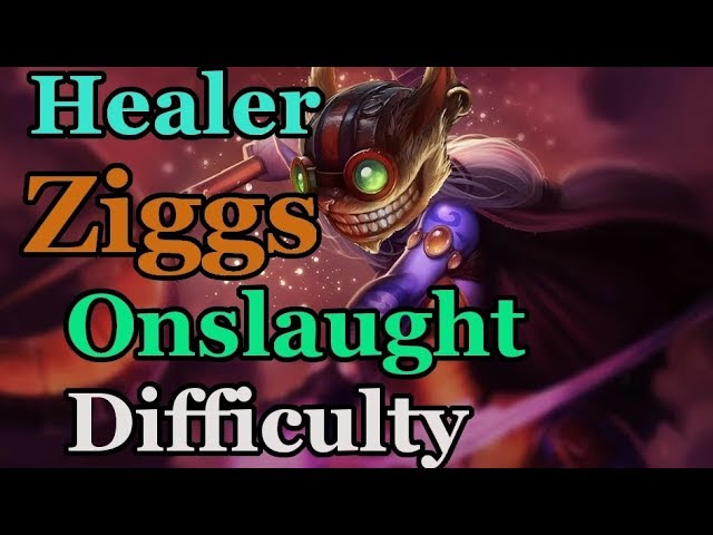 Healer Ziggs! Onslaught Difficulty Odyssey: Extraction