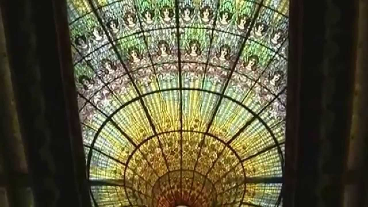 Barcelona Palau De La Música Catalana Youtube