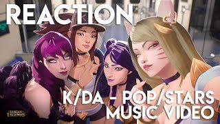 REACTION: K/DA - POP/STARS League of Legends Music Video | TradeChat