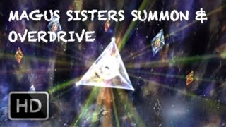 Magus Sisters Aeon Summon Scene & Combine Powers! Overdrive | Final Fantasy X HD Remaster