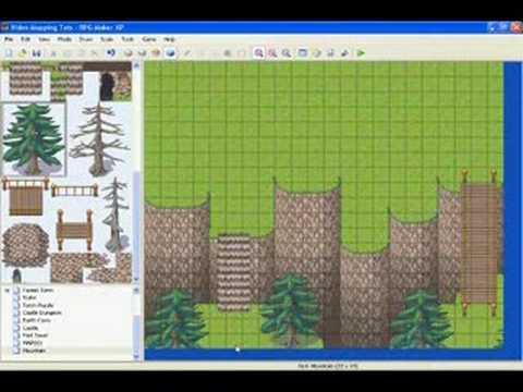 RMXP Video Mapping Tutorial - Mountain Part 2