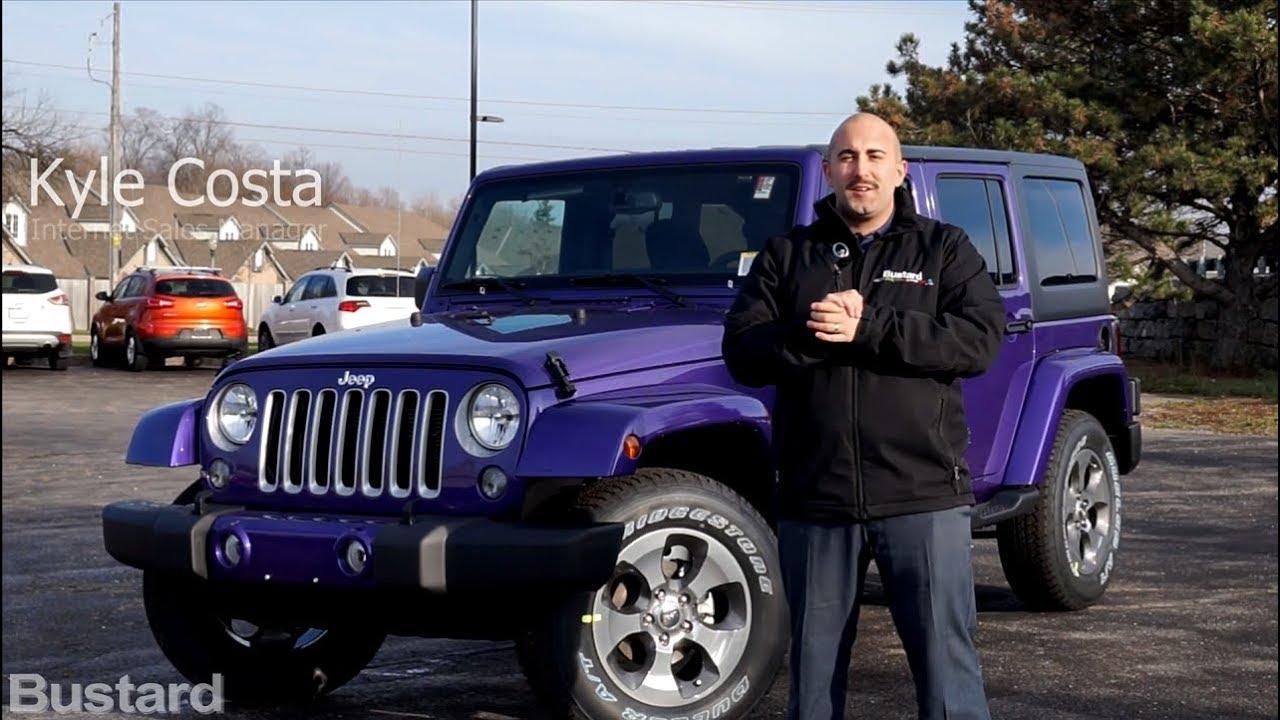 Bustard Chrysler Waterloo >> 2017 Jeep Wrangler Sahara Review At Bustard Chrysler In Waterloo