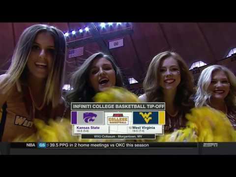 NCAAB 02 11 2017 Kansas State at West Virginia 720p60