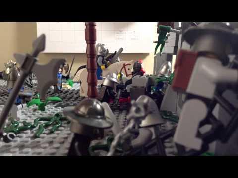 Lego Castle Siege Youtube